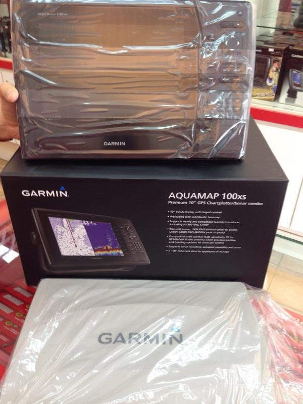 garmin aquamap 100xs 10 inch chartpl (end 5/1/2017 12:00 am), Fish Finder