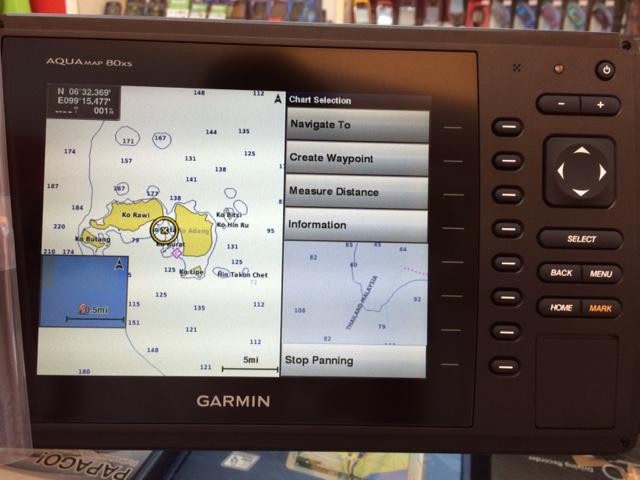 garmin aquamap 80xs 8 inch chartplot (end 5/1/2017 12:00 am), Fish Finder