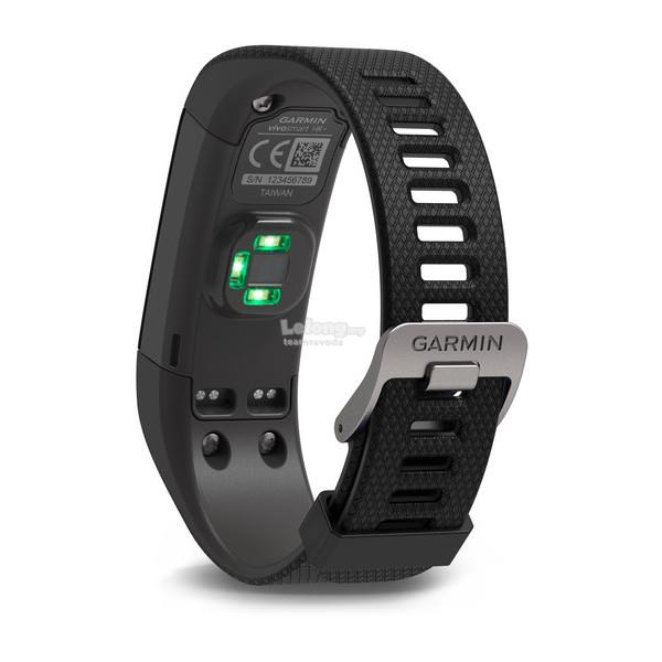 Garmin vívosmart HR+  Activity Tracker - Black