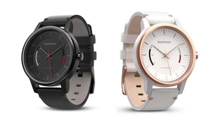 Garmin Vivomove Classic Watch With Activity Tracking