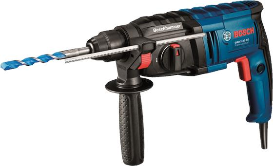GBH 2-20 RE 20MM BOSCH ROTARY HAMMER (6 MONTHS BOSCH WARRANTY)