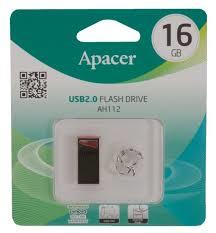 GDT. APACER FLASH DRIVE USB2.0 AH112 16GB AP16GAH112R-1 RED