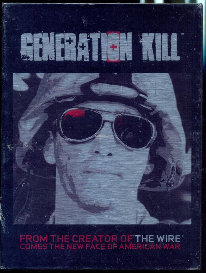 Generation Kill - The Complete Series - New DVD