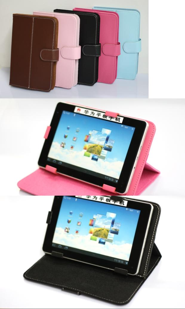 Generic 7 inch Tablet Fold-able PU leather Casing