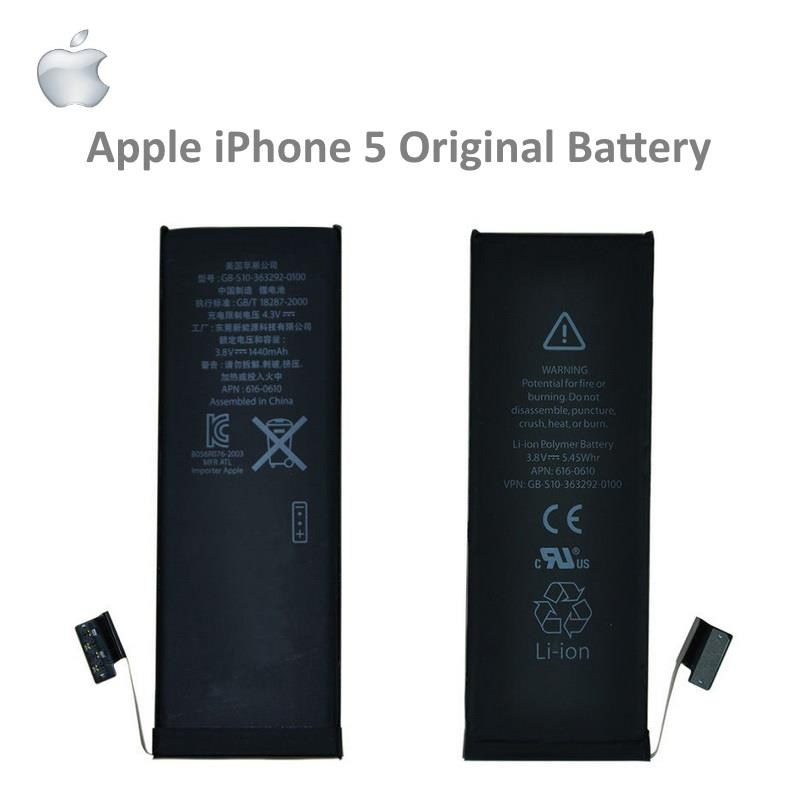 Genuine Apple iPhone 5S 5G Battery
