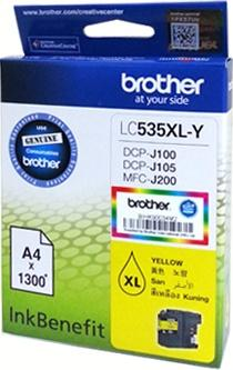 GENUINE BROTHER LC-535XL YELLOW INK LC535 535 J100 J105 J200