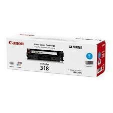 GENUINE CANON CARTRIDGE 318 CYAN (BLUE) LBP-7200CD/ 7200 CDN/ 7680CX