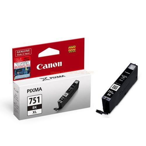 GENUINE CANON CLI-751XL BLACK INK CARTRIDGE