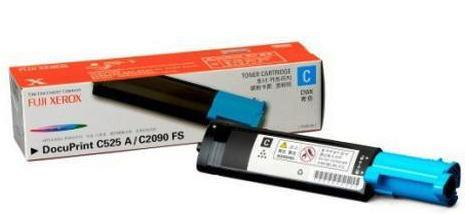 GENUINE FUJI XEROX DOCUPRINT C525A/C2090FS CT200650 CYAN TONER-4K