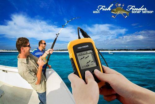 Genuine LUCKY Fish Finder with Sonar Sensor Sea and River Fishing