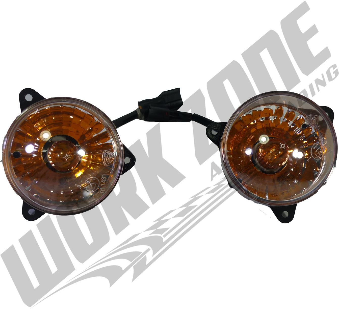 Genuine Proton Waja Campro 2007 Small Fog Lamp Set