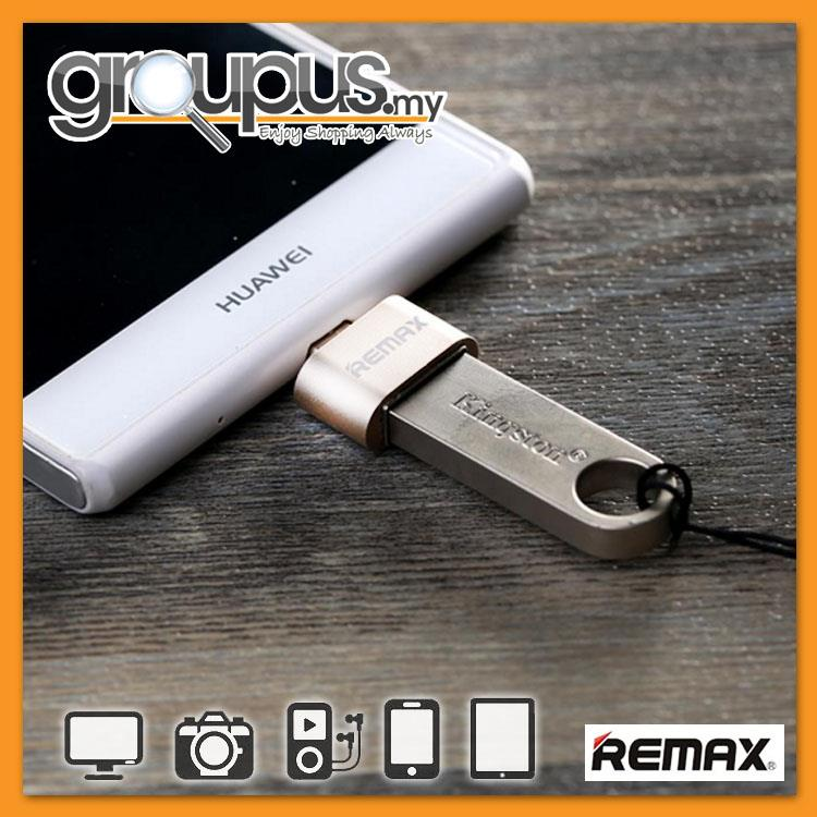 Genuine REMAX OTG Micro To USB Adapter Card Reader RA-OTG(For Android)