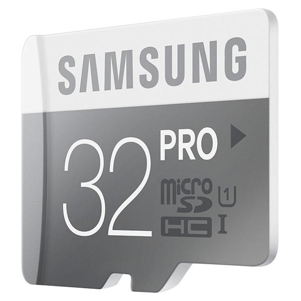 Genuine SAMSUNG PRO 32GB Micro SD SDHC Memory Card ~90MB/s Write 80MB