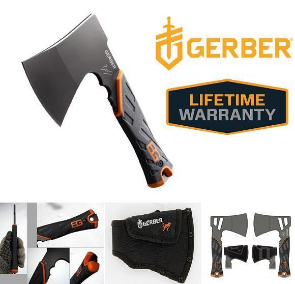 Gerber Bear Grylls Survival Hatchet/Axe with Nylon Sheath RM 299.00