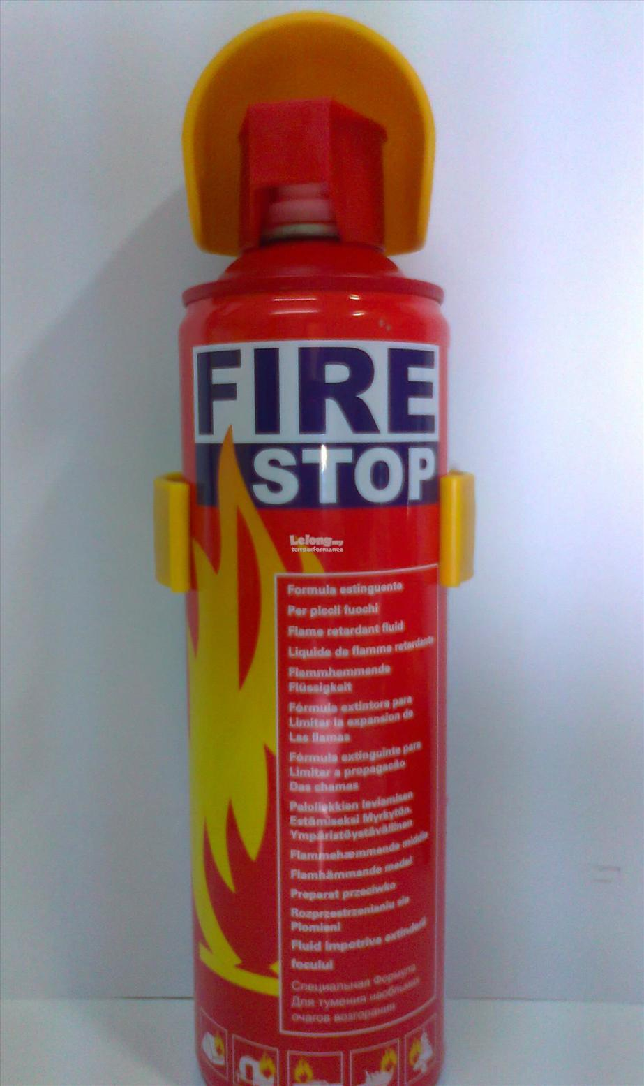 GETSUN Fire Stop Foam Portable Fire Extinguisher 500ml Safety First