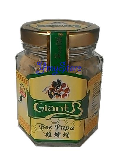 Giant B, Ymy Store, Bee Pupa,雄蜂蛹, Hoeny, Raw Honey
