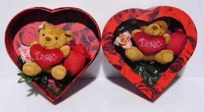 GIFT BOX ROSE PANTY + CUTIE MEDIUM BEAR-1unit