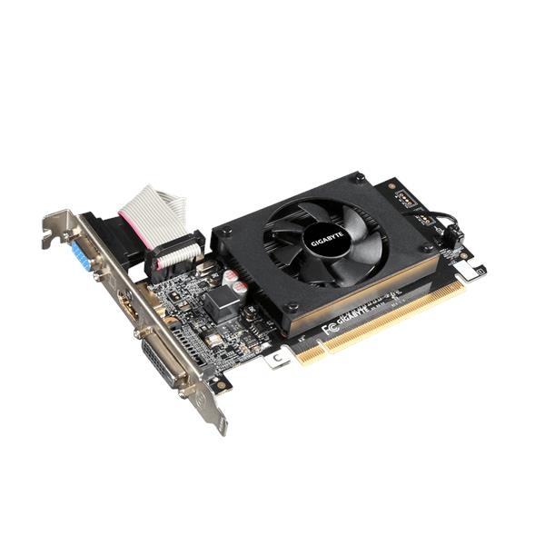 Gigabyte GeForce GT710 1GB 64-Bit DDR3 PCI Express GT 710 GPU - N710D3