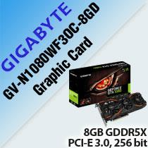 GIGABYTE GV-N1080WF3OC-8GD GRAPHIC CARD