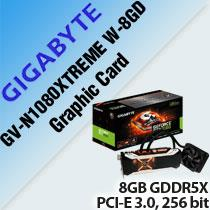 GIGABYTE GV-N1080XTREME W-8GD GRAPHIC CARD