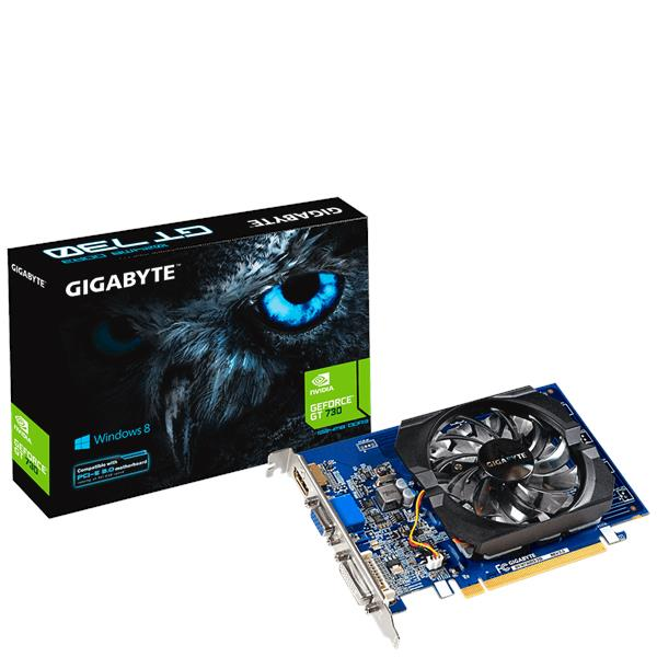 GIGABYTE NVIDIA GEFORCE GT 730 2GB GDDR5 GRAPHIC CARD