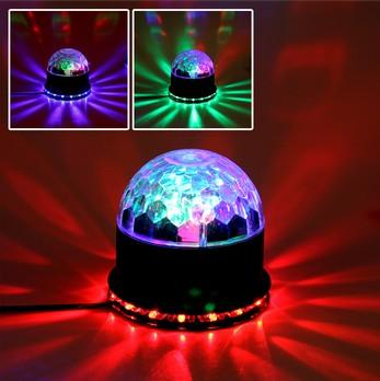 Glam RGB Color Changing LED Magic Ball Light Disco