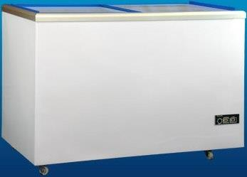 Glass Door Chest Freezer 420 litres