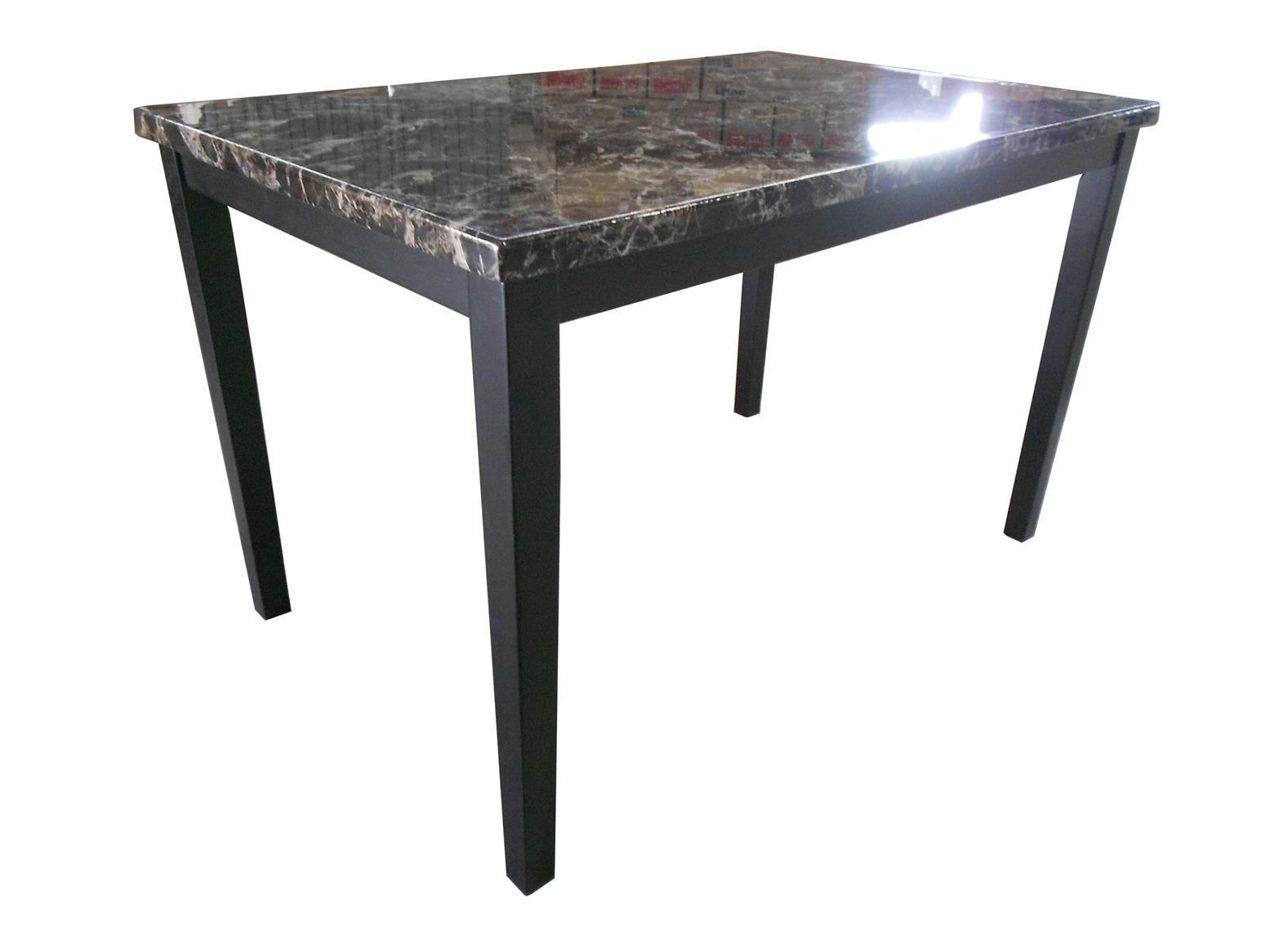 Glory Faux Marble Dining Table