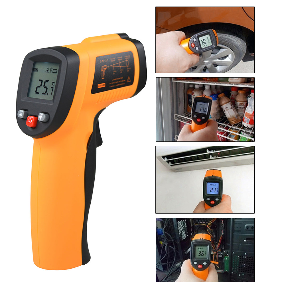 GM550 Handheld Non-Contact IR Infrared Digital Thermometer Laser GM550