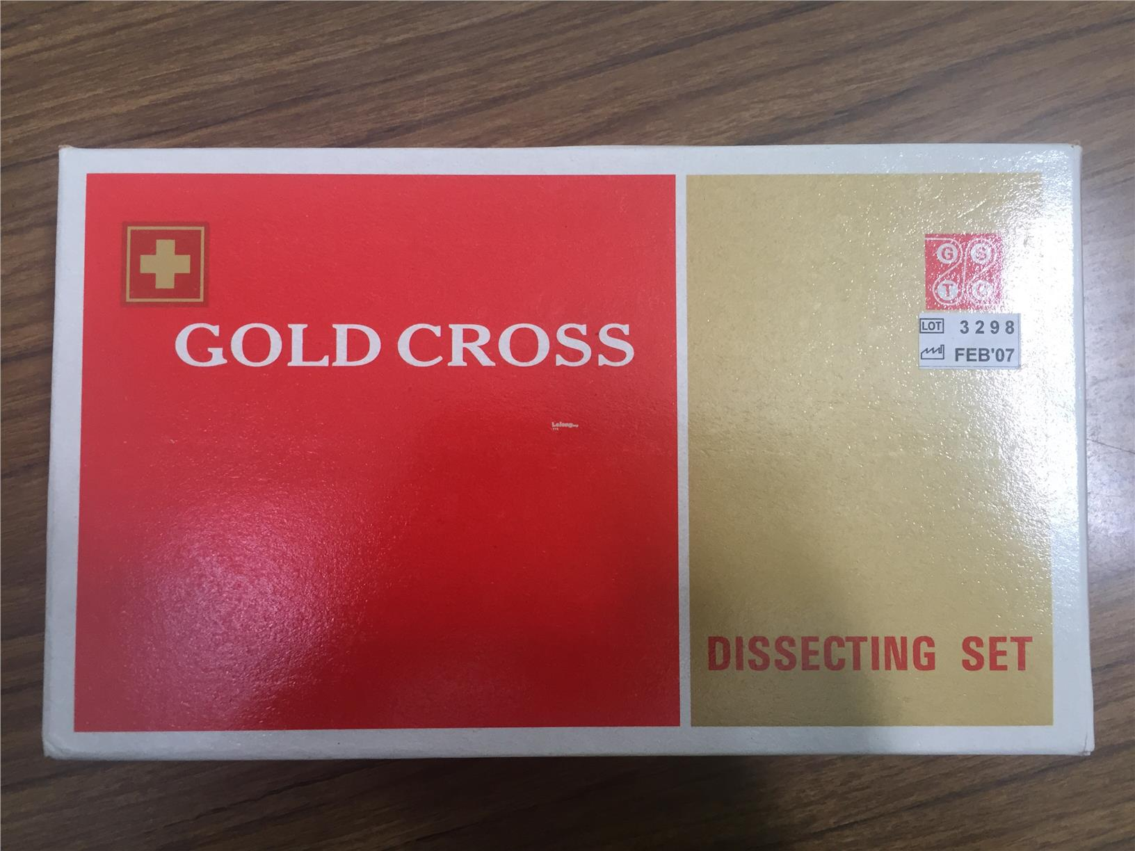 Gold Cross Dissecting Set
