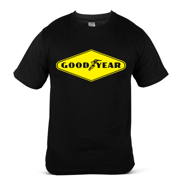 GOODYEAR Car Truck Lorry SUV Tyre Tire & Rubber 100% Cotton T-Shirt 2