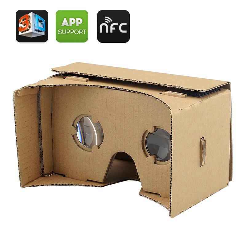 Google Cardboard Virtual Reality VR DIY 3D Glasses