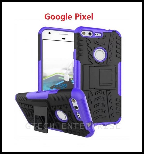 Google Pixel 5.0 Shockproof Armor Standable Case Cover