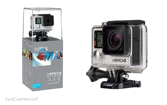 GoPro Hero 4 Silver With Memory Card Handheld