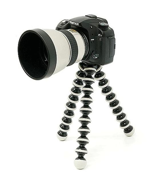 Gorilla Octopus Tripod for DSLR Large Size (Black)
