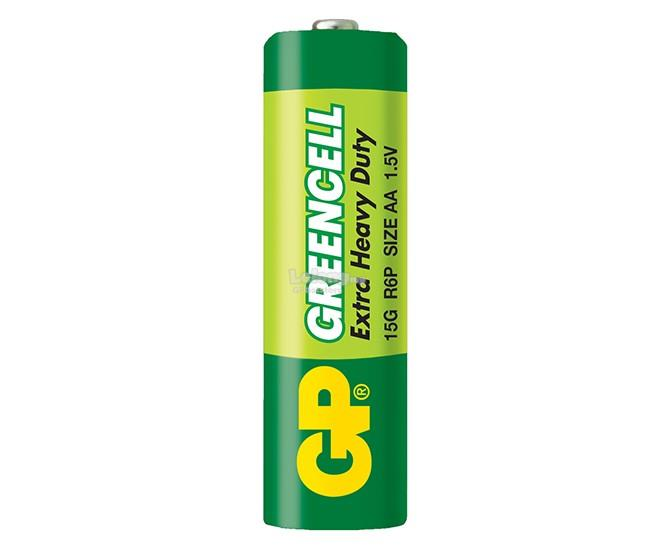GP GREENCELL EXTRA HEAVY DUTY 15G 4PCS FREE 4PCS AA BATTERY