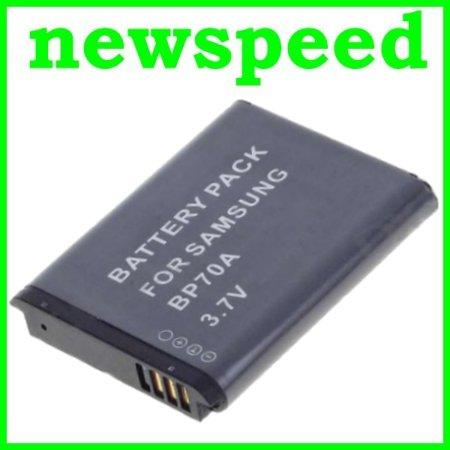 Grade A BP-70A Rechargeable Li-Ion Battery for Samsung MV800 BP70A