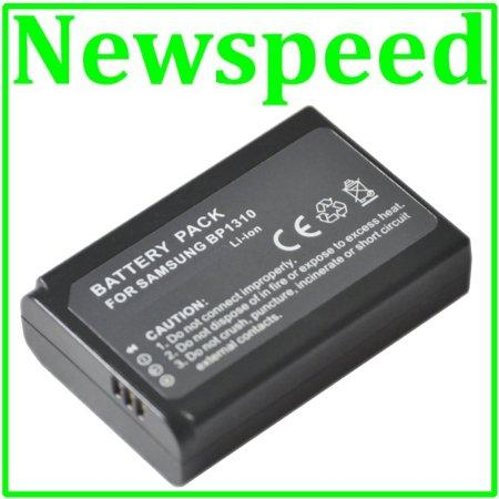 Grade A ED-BP1310 Li-Ion Battery for Samsung NX10 NX20 NX100 BP1310