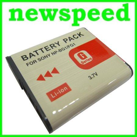 Grade A NP BG1 FG1 Li-Ion Battery for Sony H10 H20 H50 H55 H70 HX5v