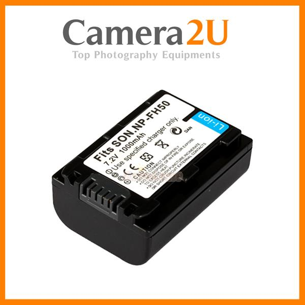 Grade A NP-FH50 FH40 Rechargeable Li-Ion Battery for Sony