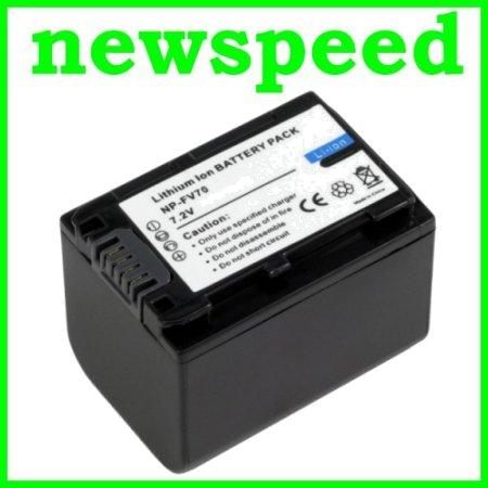 Grade A NP FV70 Li-Ion Battery for Sony NEX-VG20 NEX-VG20H NPFV70