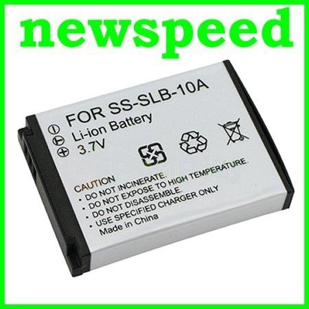 Grade A SLB-10A Battery for Samsung WB150F WB500 WB750 HMX-U100