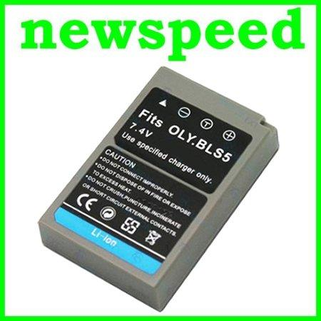 GradeA BLS-5 Li-Ion Battery for Olympus Pen E-PL3 EPL3 E-PL5 EPL5