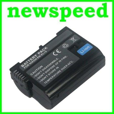 GradeA EN-EL15 Rechargeable Li-Ion Battery for Nikon V1 D600 D500