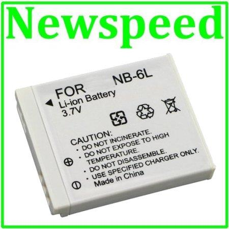 GradeA NB-6L Li-Ion Battery for Canon Powershot SX710 SX700 SX610 NB6L