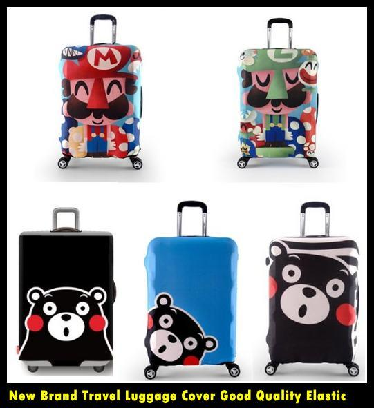 Graphic New Brand Travel Luggage Cover Good Quality Elastic