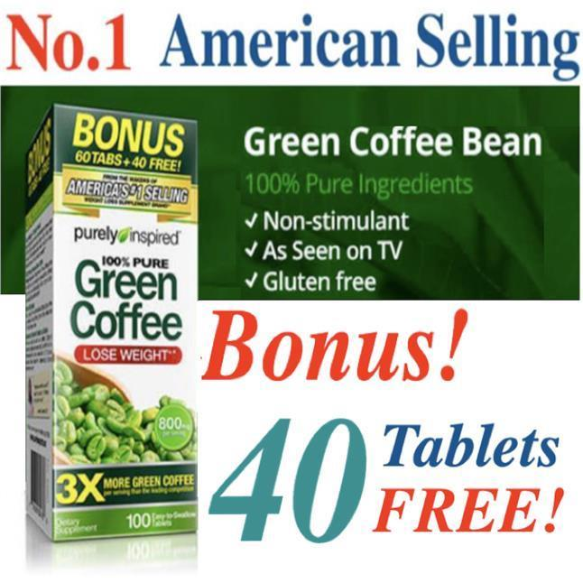 Green Coffee, 100 Tablets (Garcinia, Lose Weight ) #1 America Selling