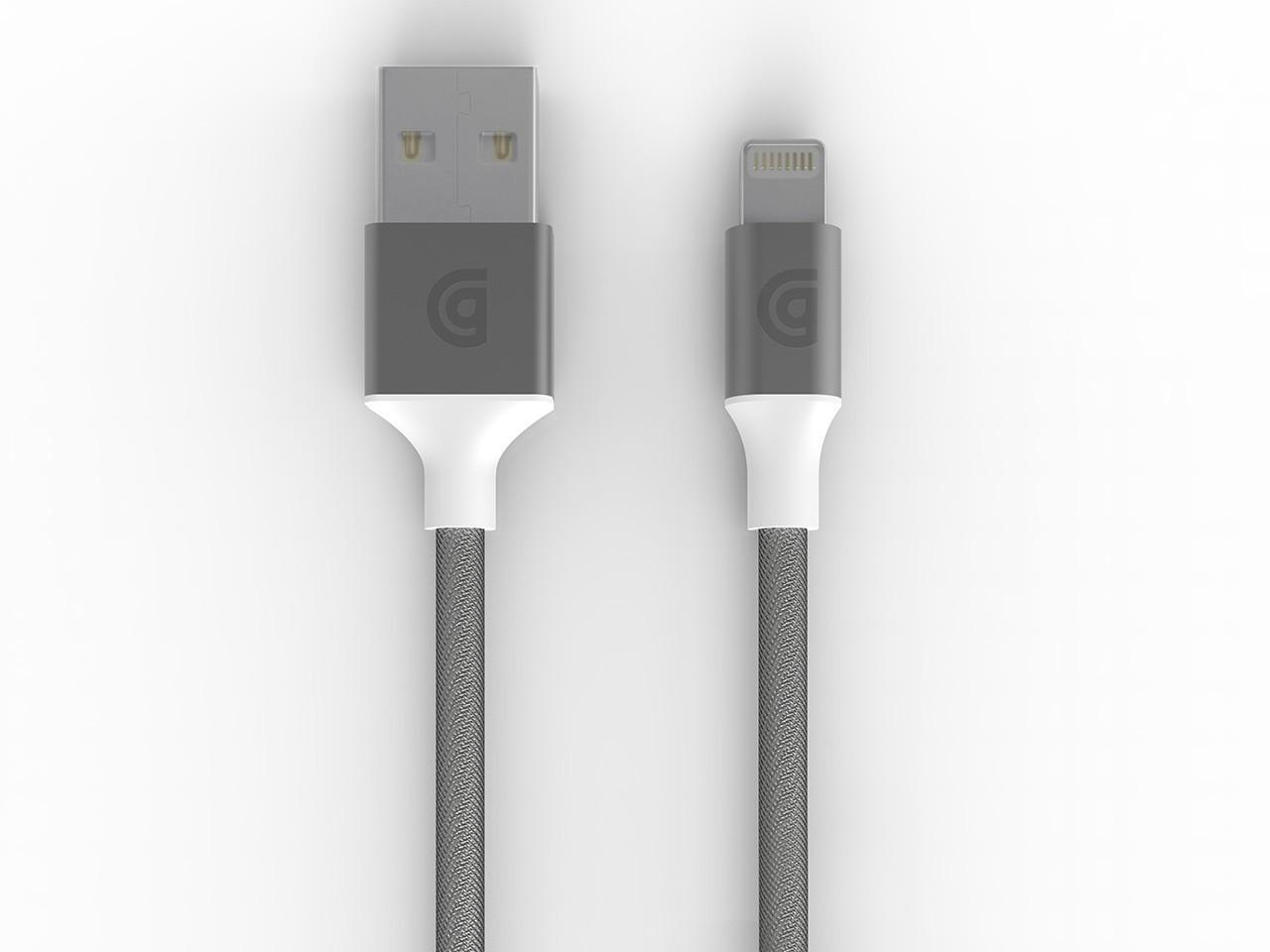 Griffin Premium Braided Lightning Cable 1.5M GC40902 - Silver