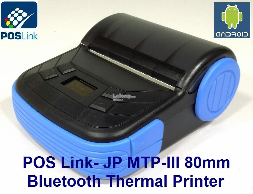 GST POS System-MTP-III 80mm Portable Thermal Printer-USB+Bluetooth
