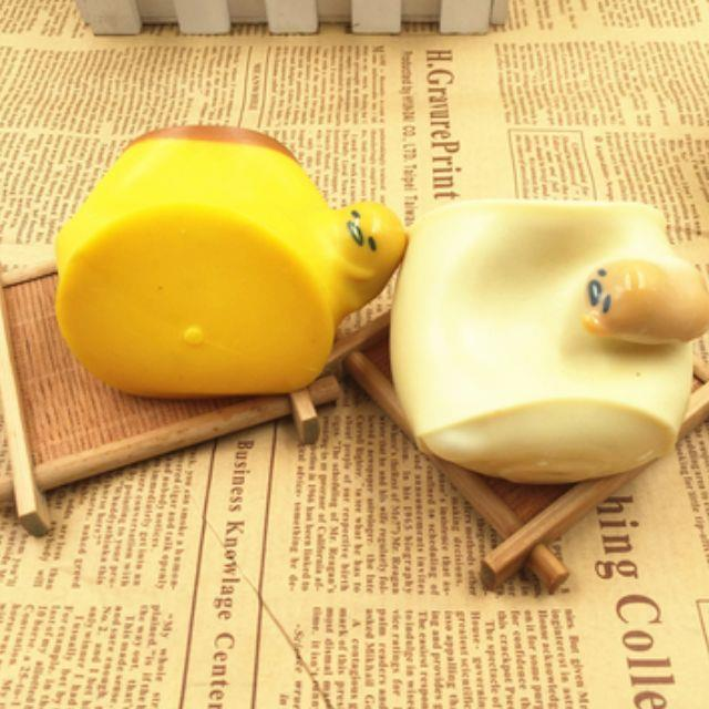 Gudetama Pudding Stress-release Squishy